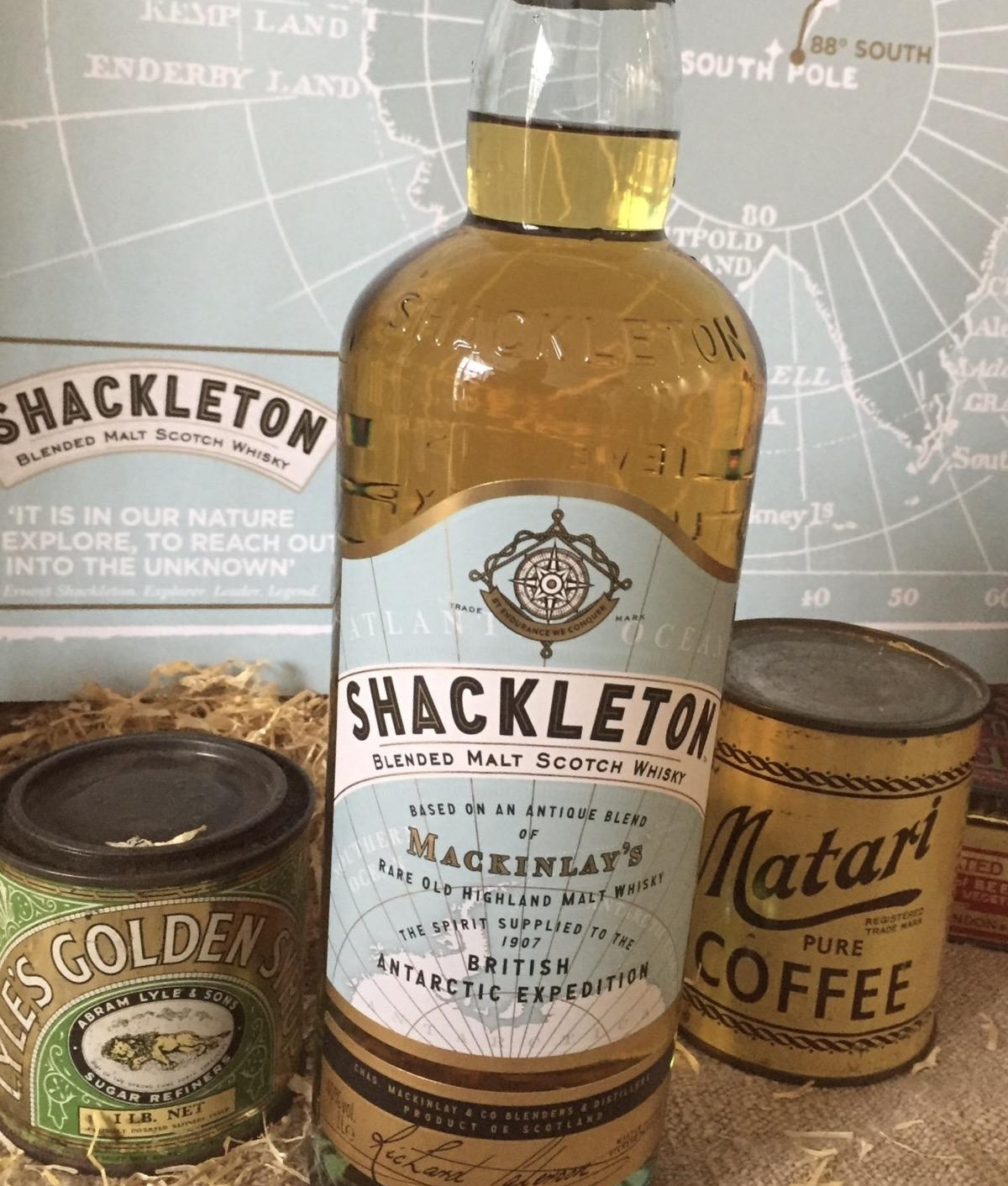 Shackleton Blended Malt Scotch Whisky:£40 – Average Retail Price; available from The Whisky Shop in May, wider retail roll-out from May onwards.