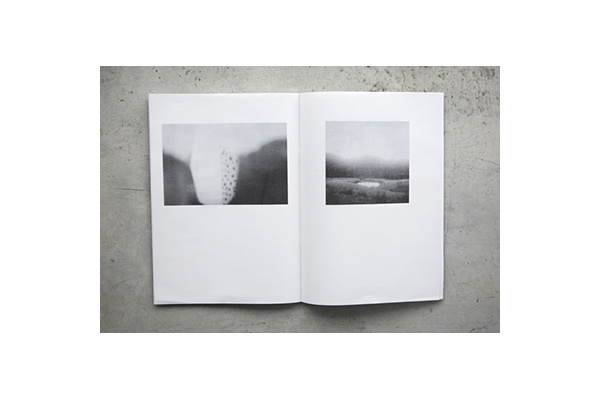 'The Inwardness of Place' Photography companion, 24p, Risograph, 2014.