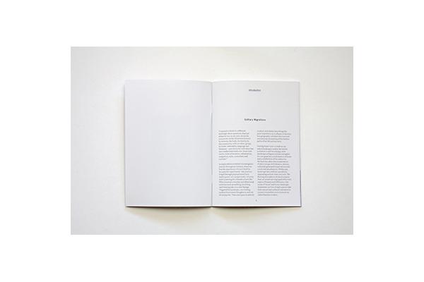 'A Return to Slow' photographic companion, 40  p, digital print,2016  . (critical essay)