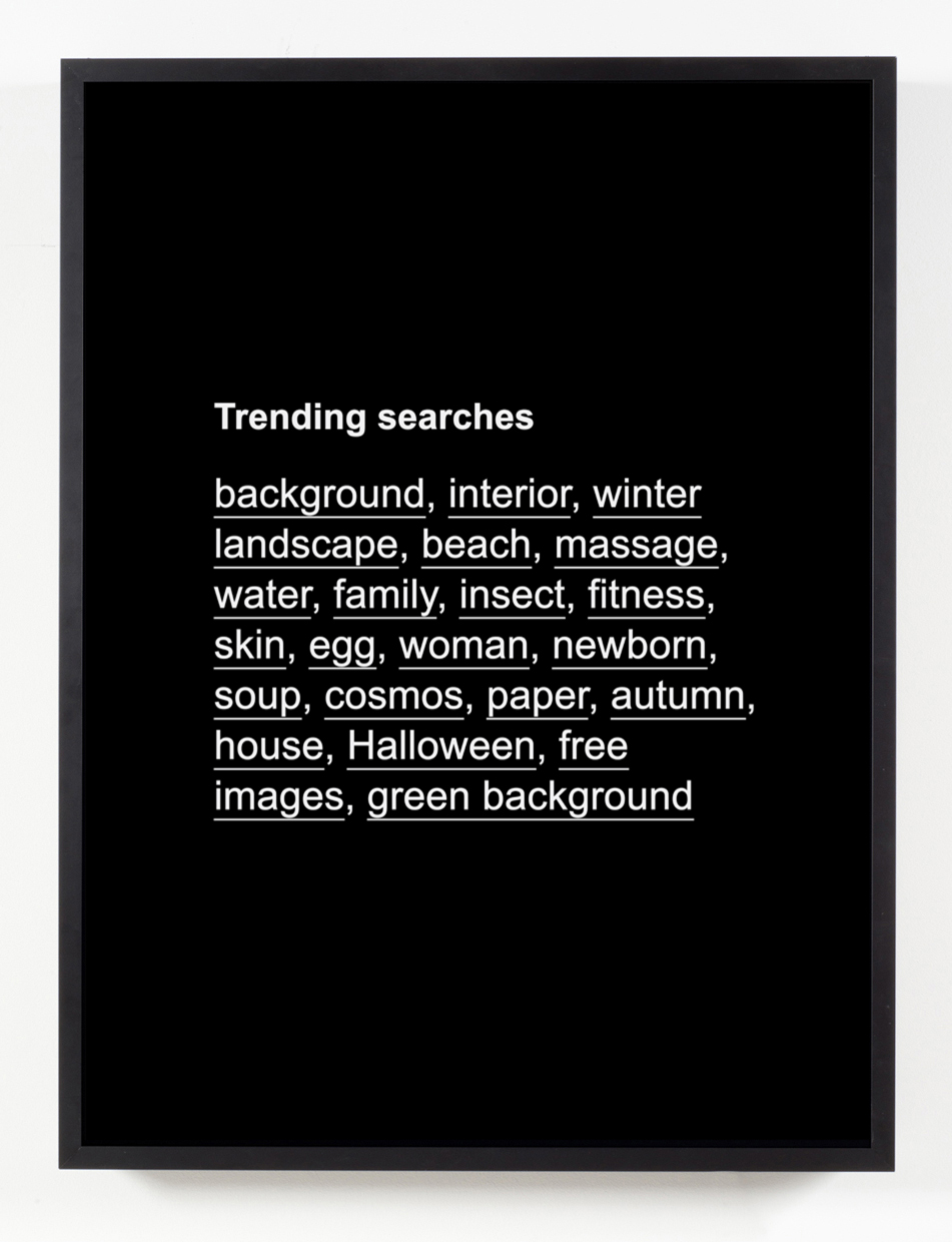 Trending Searches , 2017