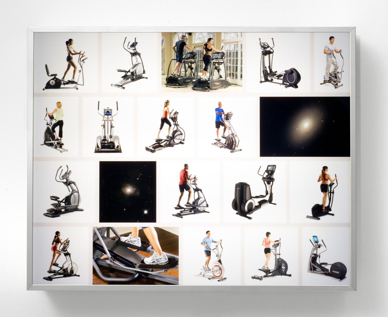 Ellipticals , 2015. Duratrans on Plexiglas; commercial light box, 25 x 31 x 4 inches