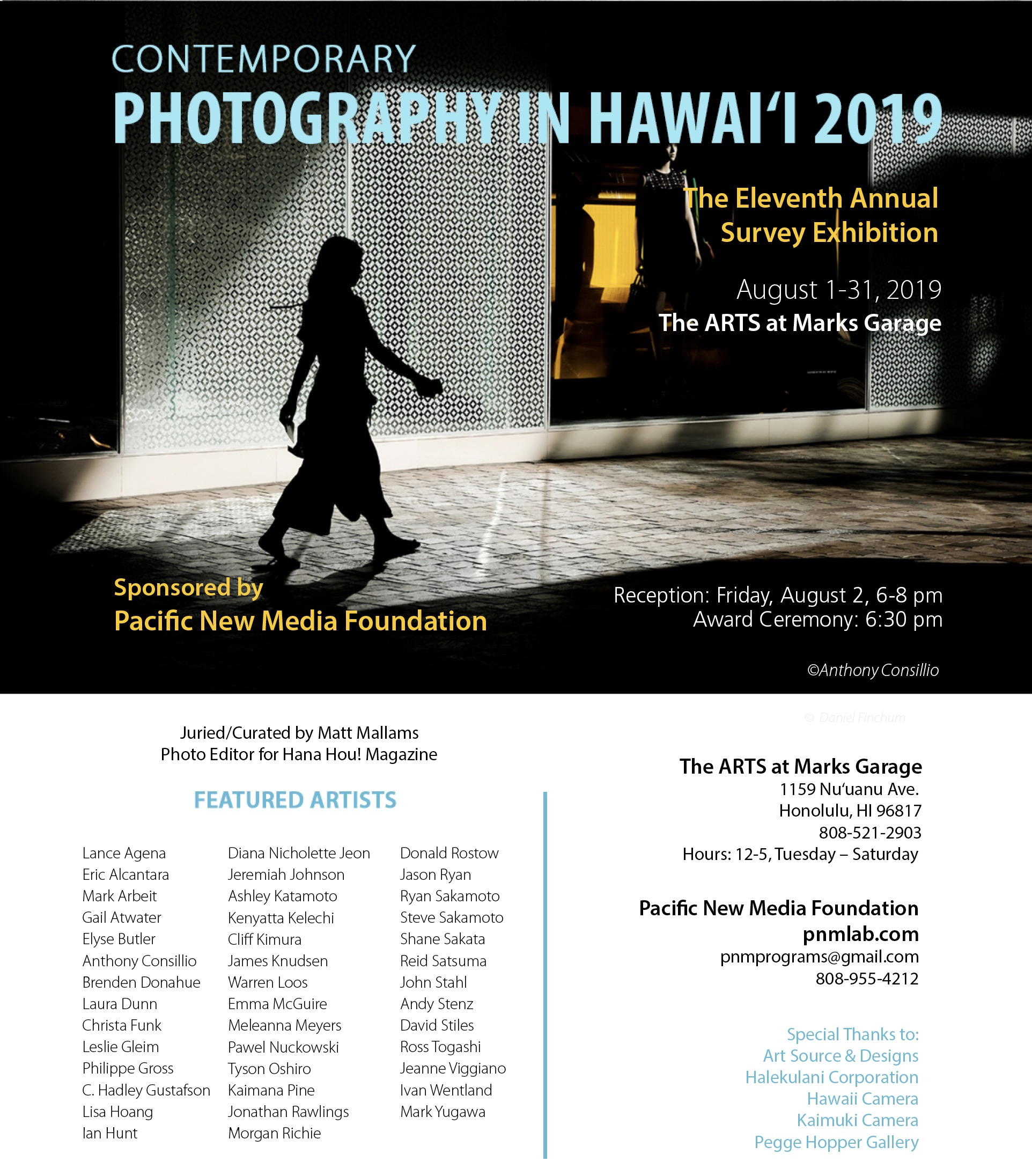 Contemporary Photography in Hawai'i 2019