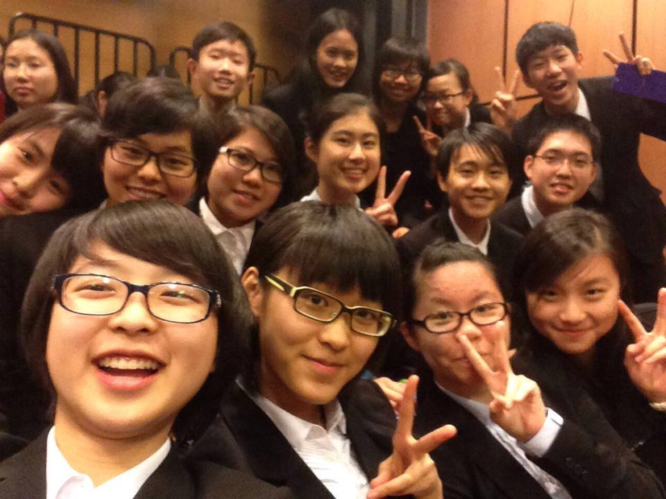 Here's a selfie of Joey, her friends Savio, Phyllis, Joan (1st row, L to R) and other mentees celebrating the end of the program.