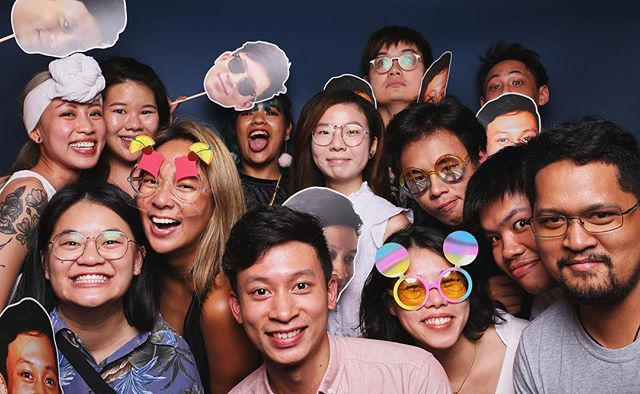 If you were at a party and didn't take pictures at the photobooth, were you really there? 🤔 #etchedsg