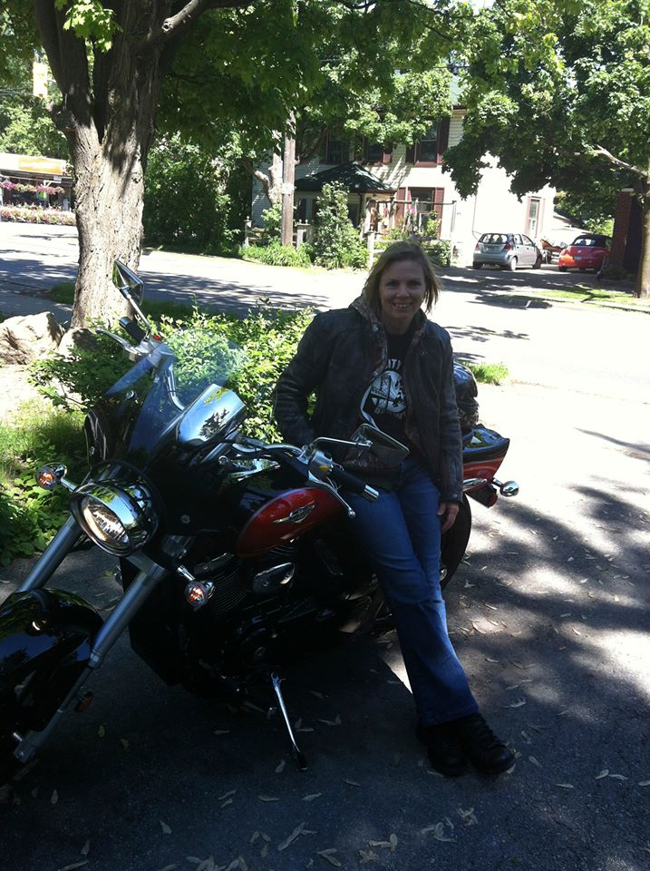 This picture was taken on the first day I got my bike