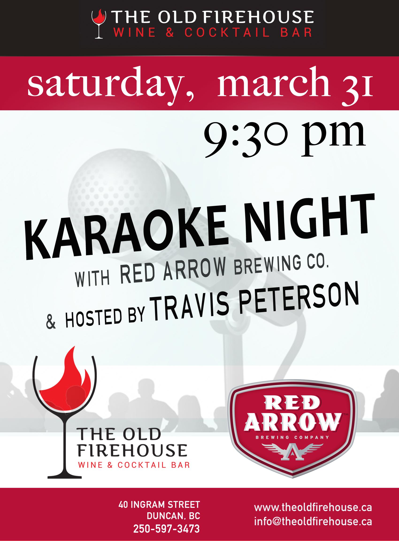 karaoke poster red arrowmarch 31-bw.jpg