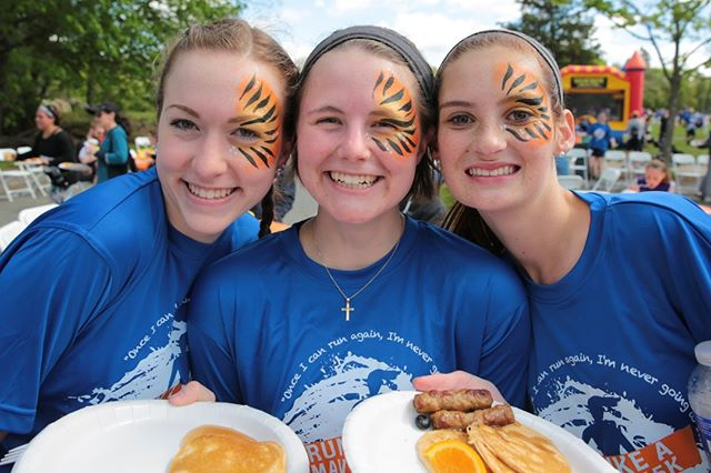T-shirts and face-paint and pancakes, OH MY!  Today is the LAST DAY to get a race t-shirt when you register for the 5K! If you're like us, you wear them all the time!  www.maverick5k.com/registration