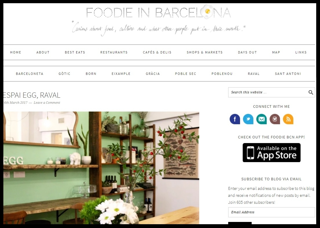 FOODIE IN BARCELONA -