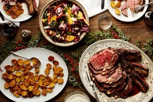 Christmas Eve dinner & day luncH -