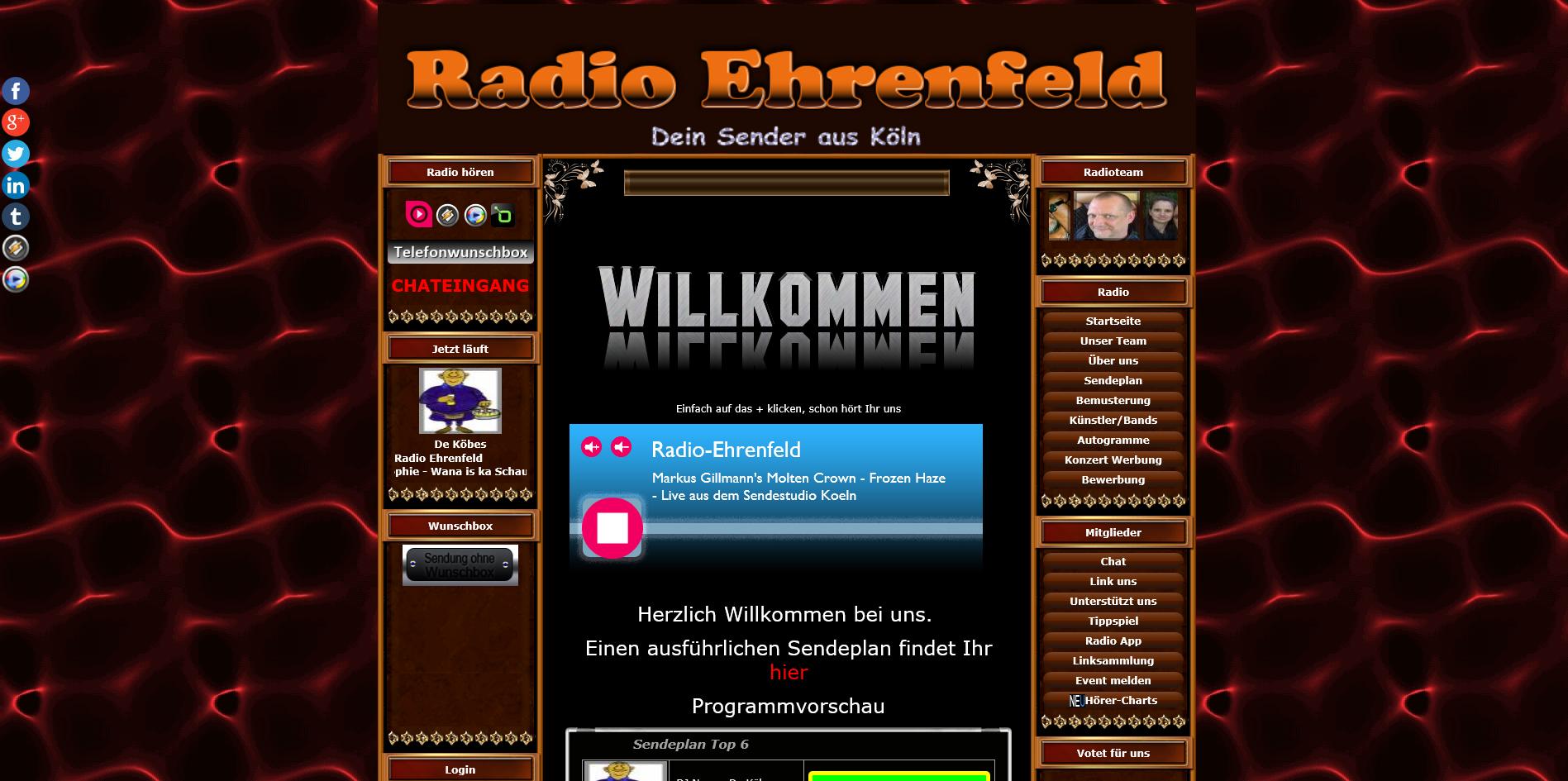 """Platz 2 für """"Frozen Haze"""" in der Hörer Chart-Show von Radio Ehrenfeld am 01.06.2019!"""