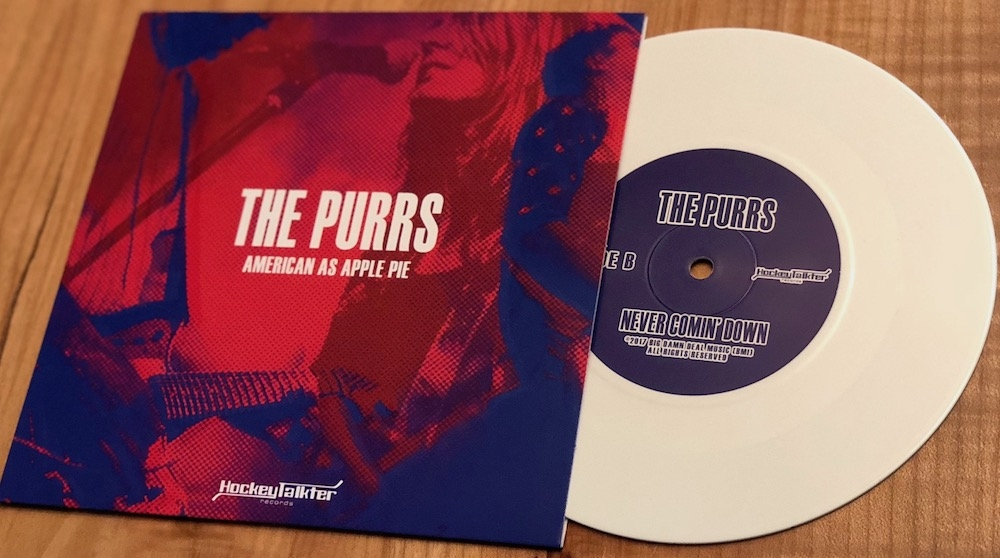 The Purrs latest single is available now on limited edition white vinyl! Available exclusively  here  at the Pearl Jam store!