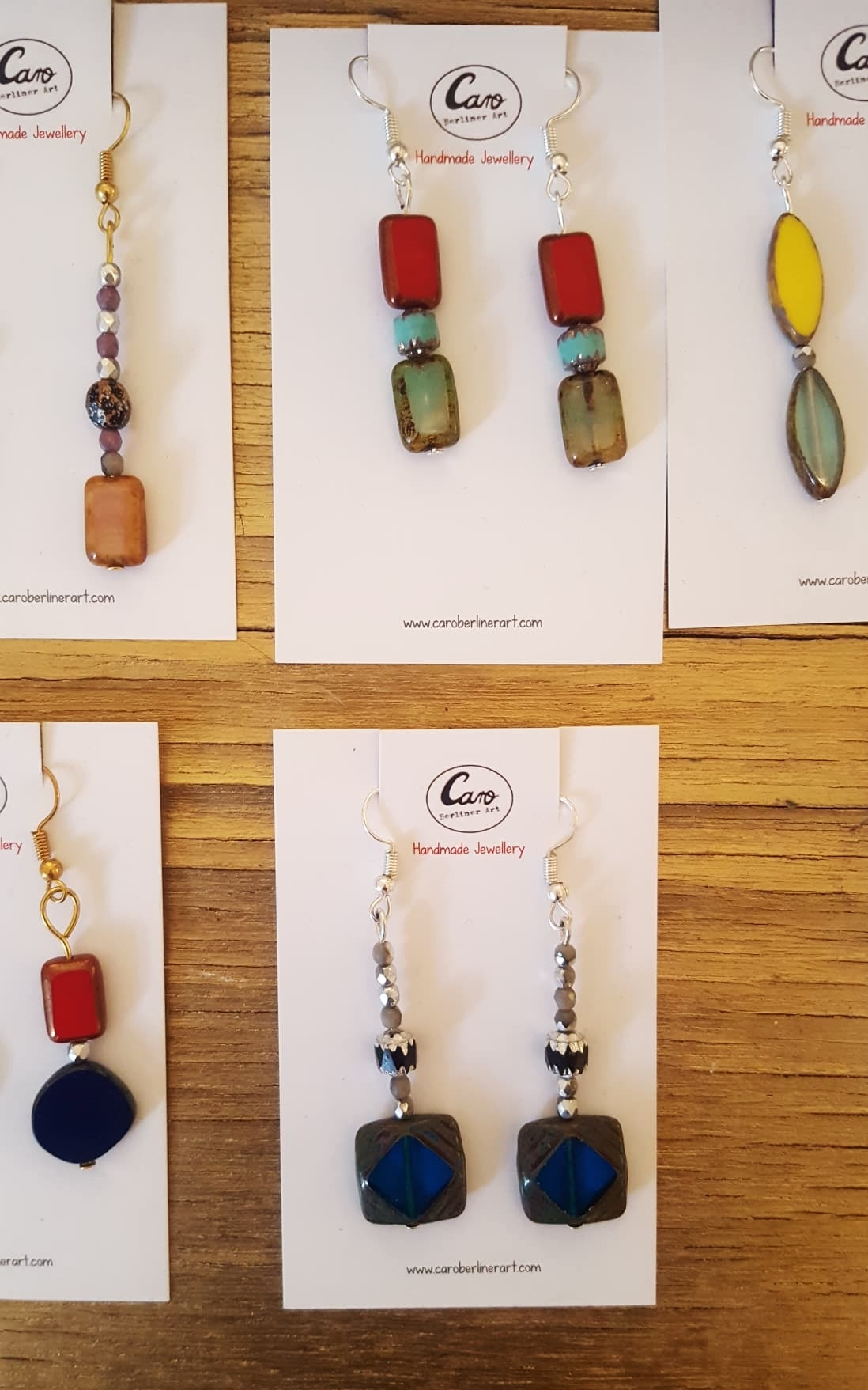 JEWELLERY COLLECTION - HANDMADE BY CARO BERLINER ART