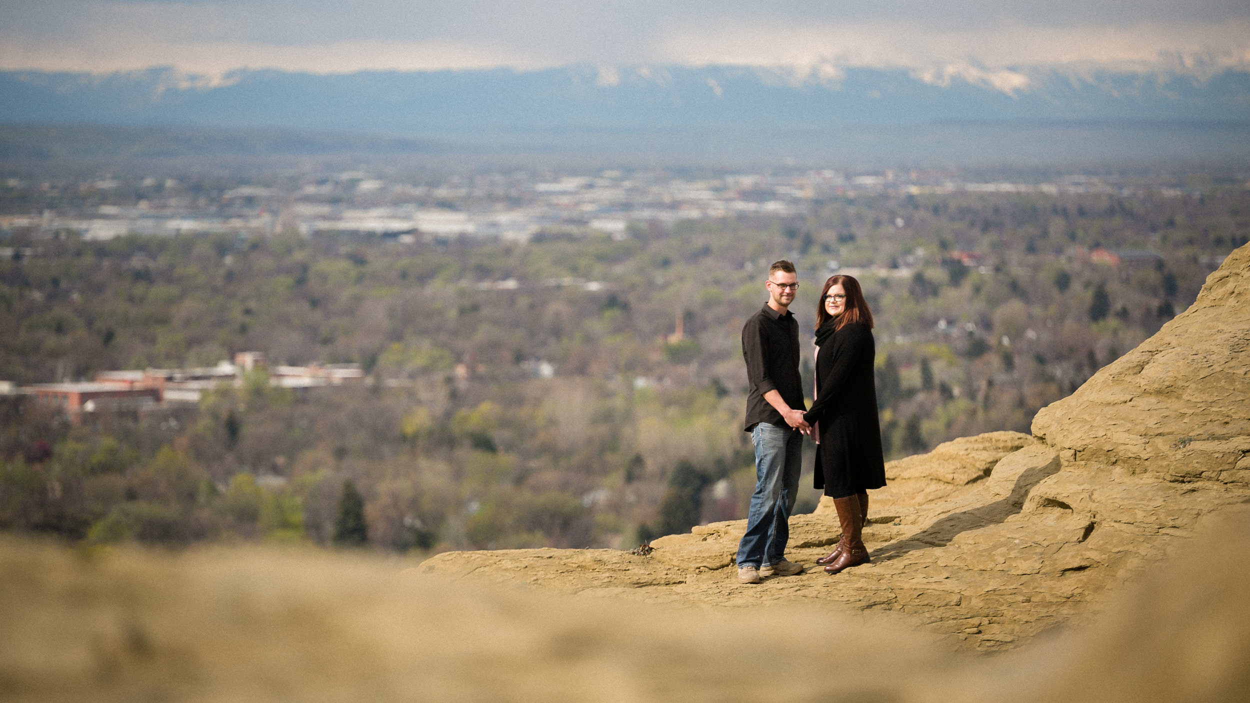 I just love the view of billings from the rims!