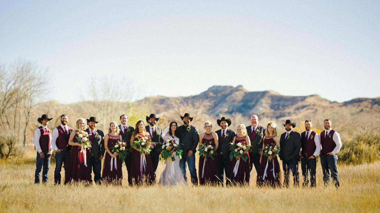 Badlands Bridal Party