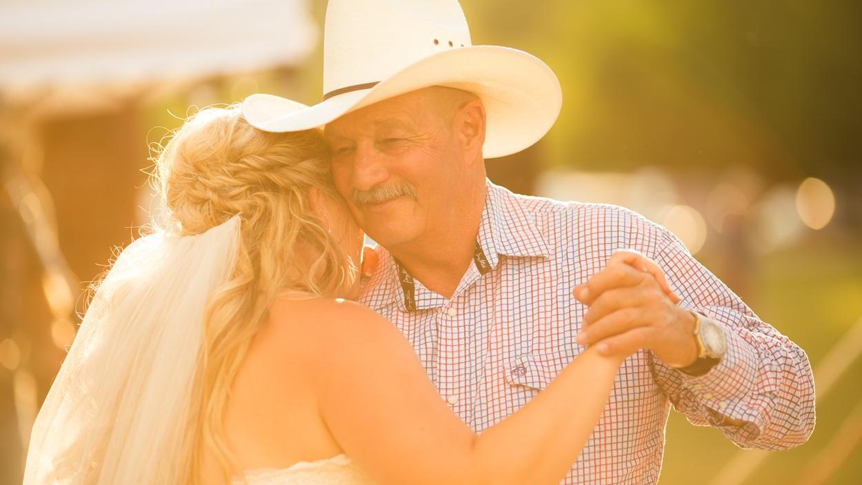 Montana wedding dance