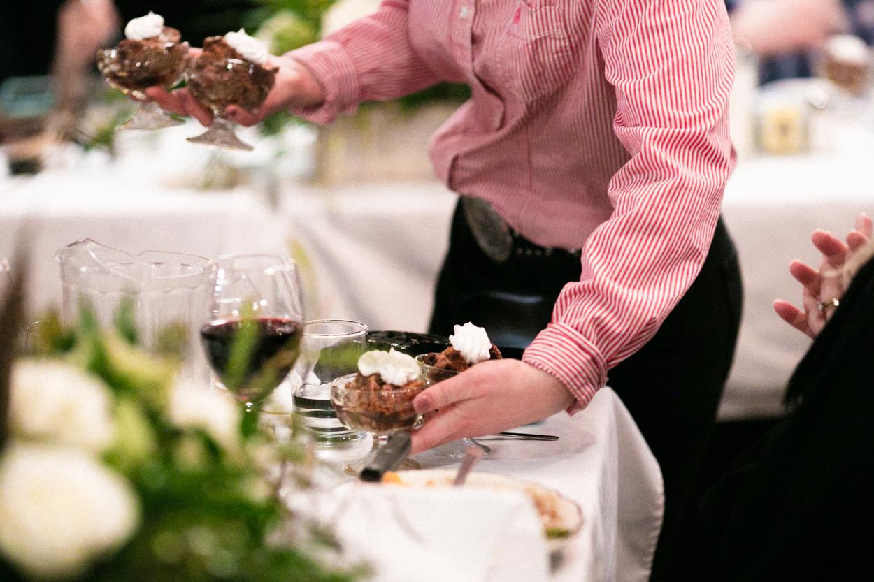 The Irma Hotel Wedding Catering