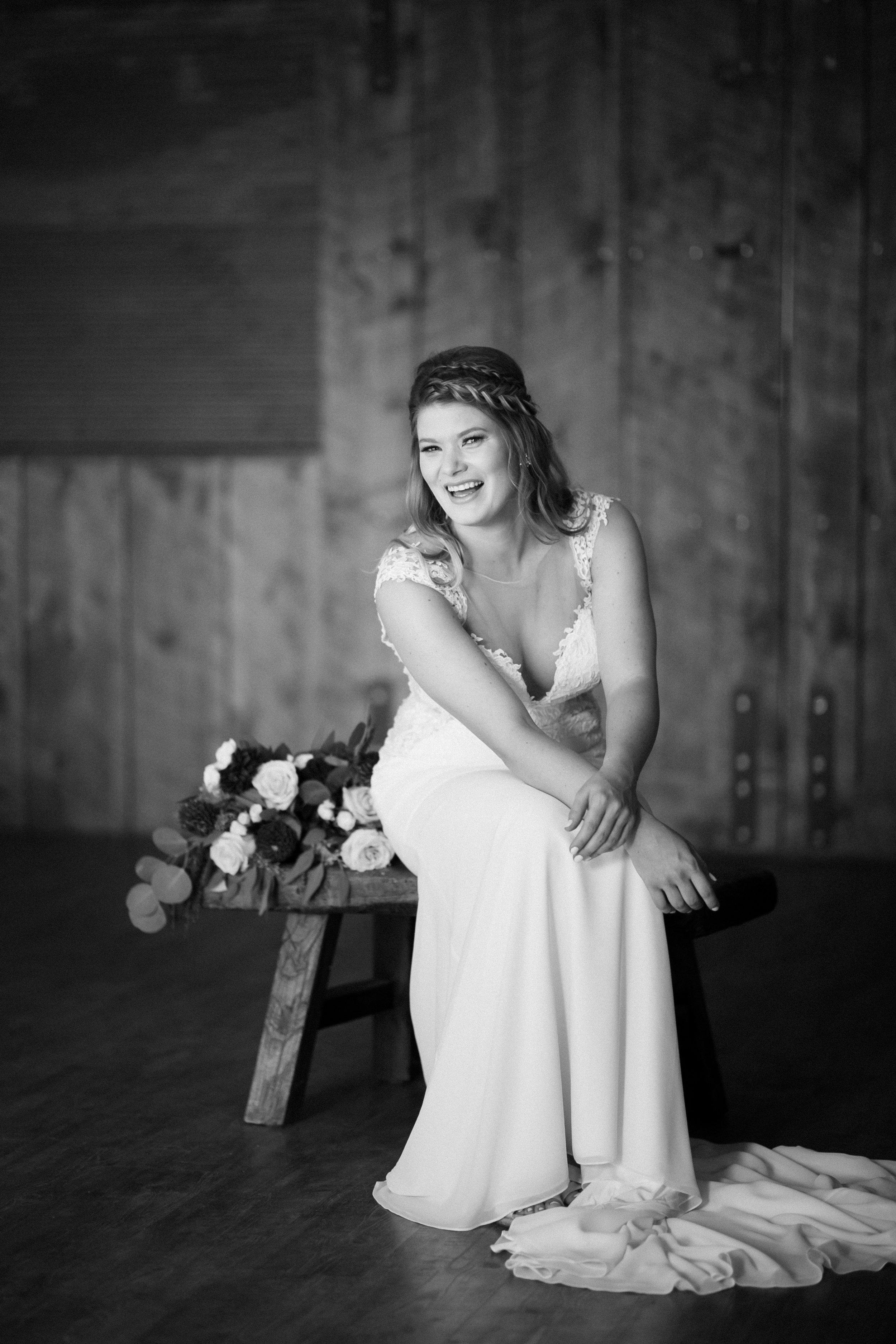 Wedding Preparation - Bridal Portrait