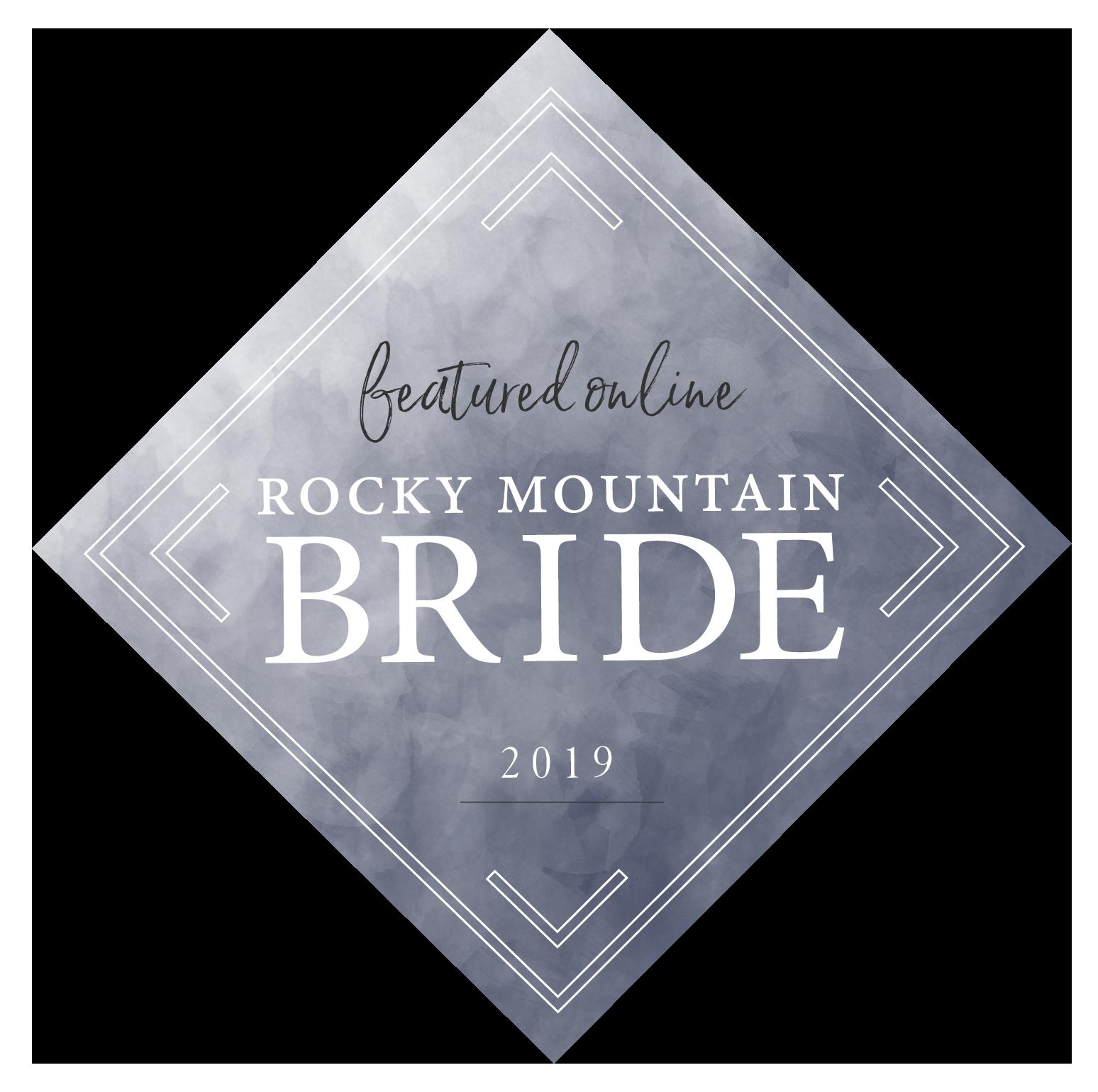 Rocky Mountain Bride 2019