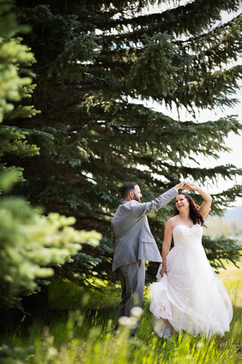 Red Lodge, Montana is a beautiful place for a wedding!