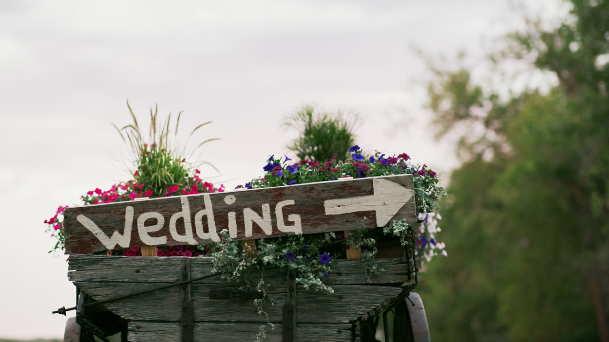 Montana wedding this way.