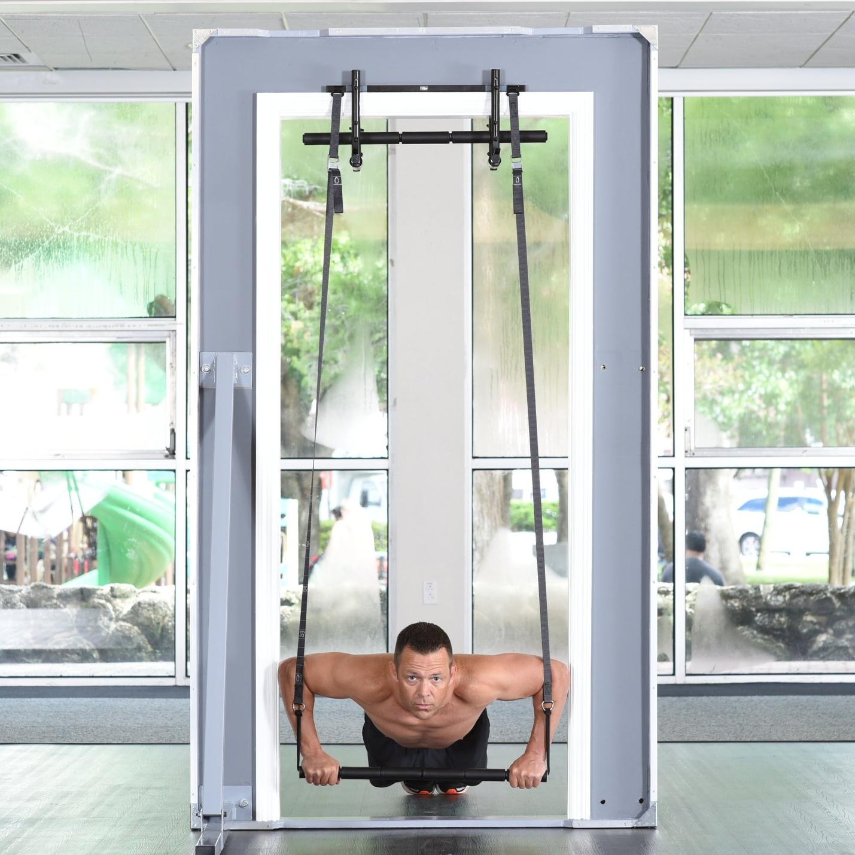 push ups in door