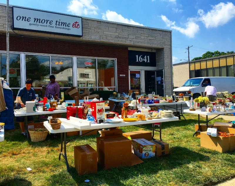 Charity Sale at One More Time ETC
