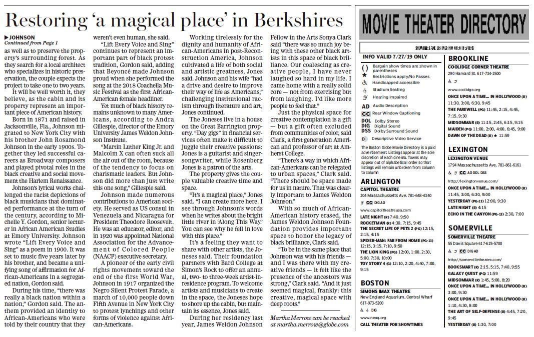 BOSTON GLOBE ARTICLE JWJ CABIN 072719 PAGE2OF2.JPG