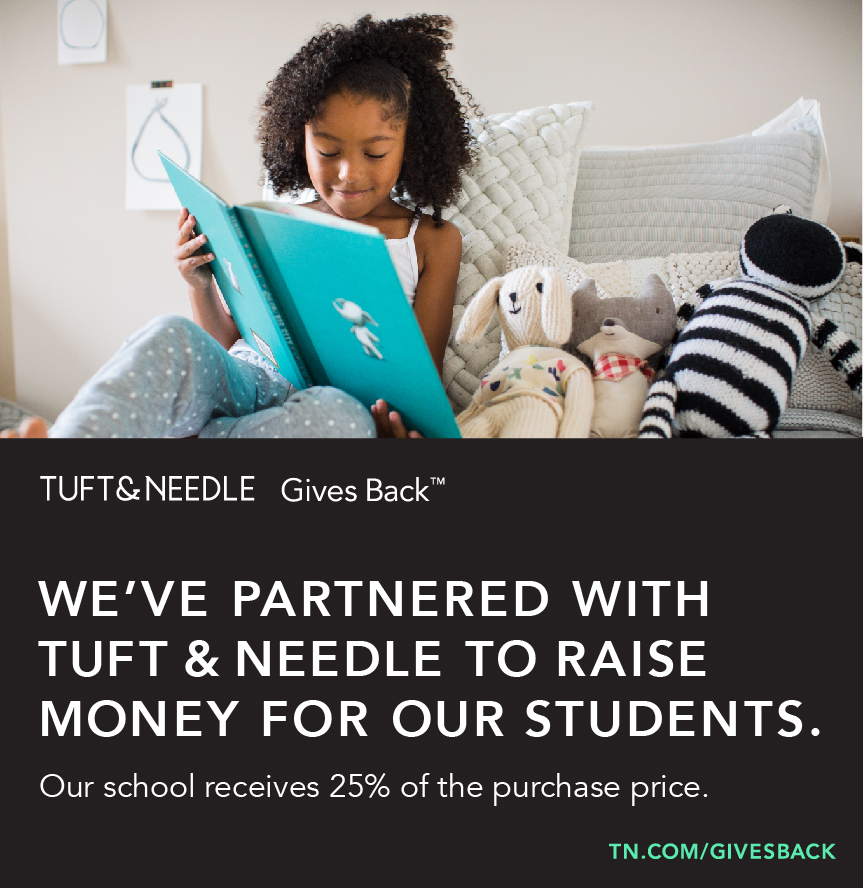 Tuft & Needle - Buying a mattress? Check out Tuft & Needle, 25% of your purchase goes back to JOES when you use the site below and find Jose Ortega in the drop down menu! That's $100 back to the school when you buy a twin size.tn.com/givesback and the drop down has Jose Ortega listed on it.T&N is leading the revolution against unfair mattress markups, commission-based sales models, creating an exceptional, honestly-priced product.