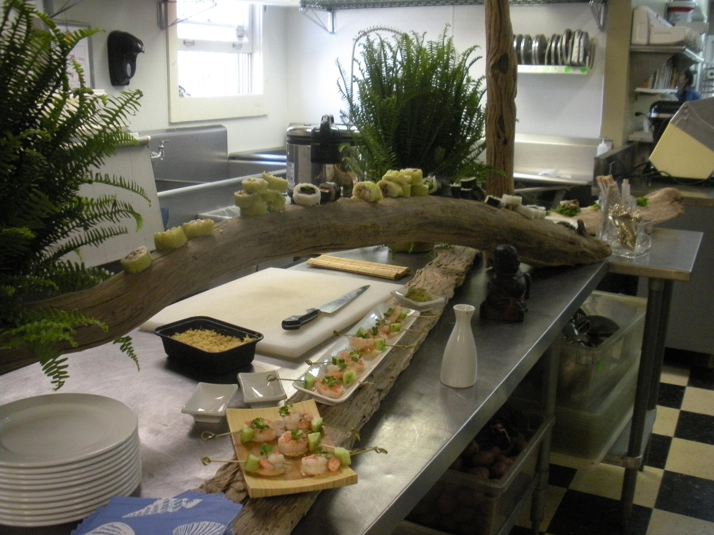 Driftwood Sushi Station (working)