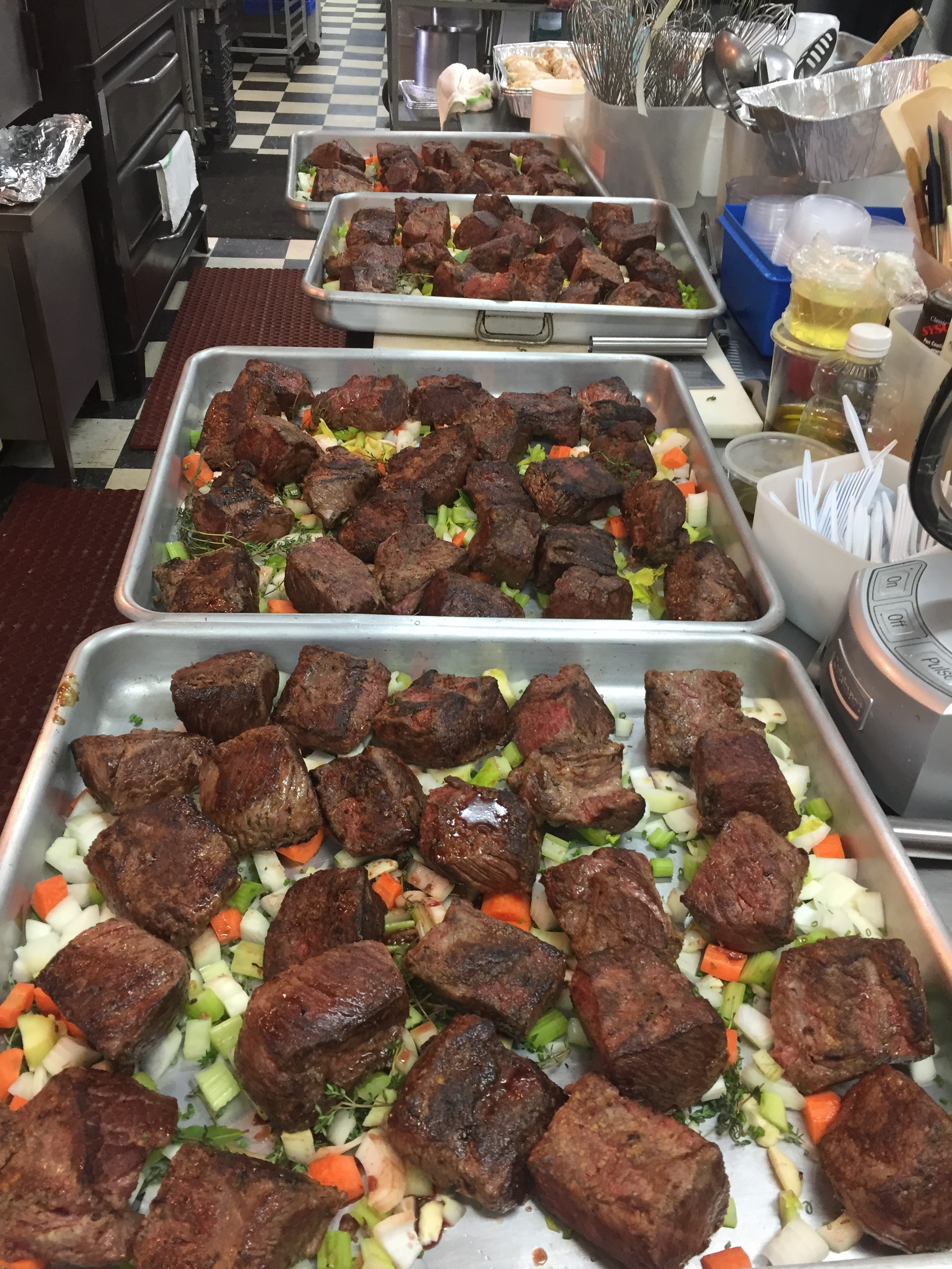 Short Ribs Ready for Ovens