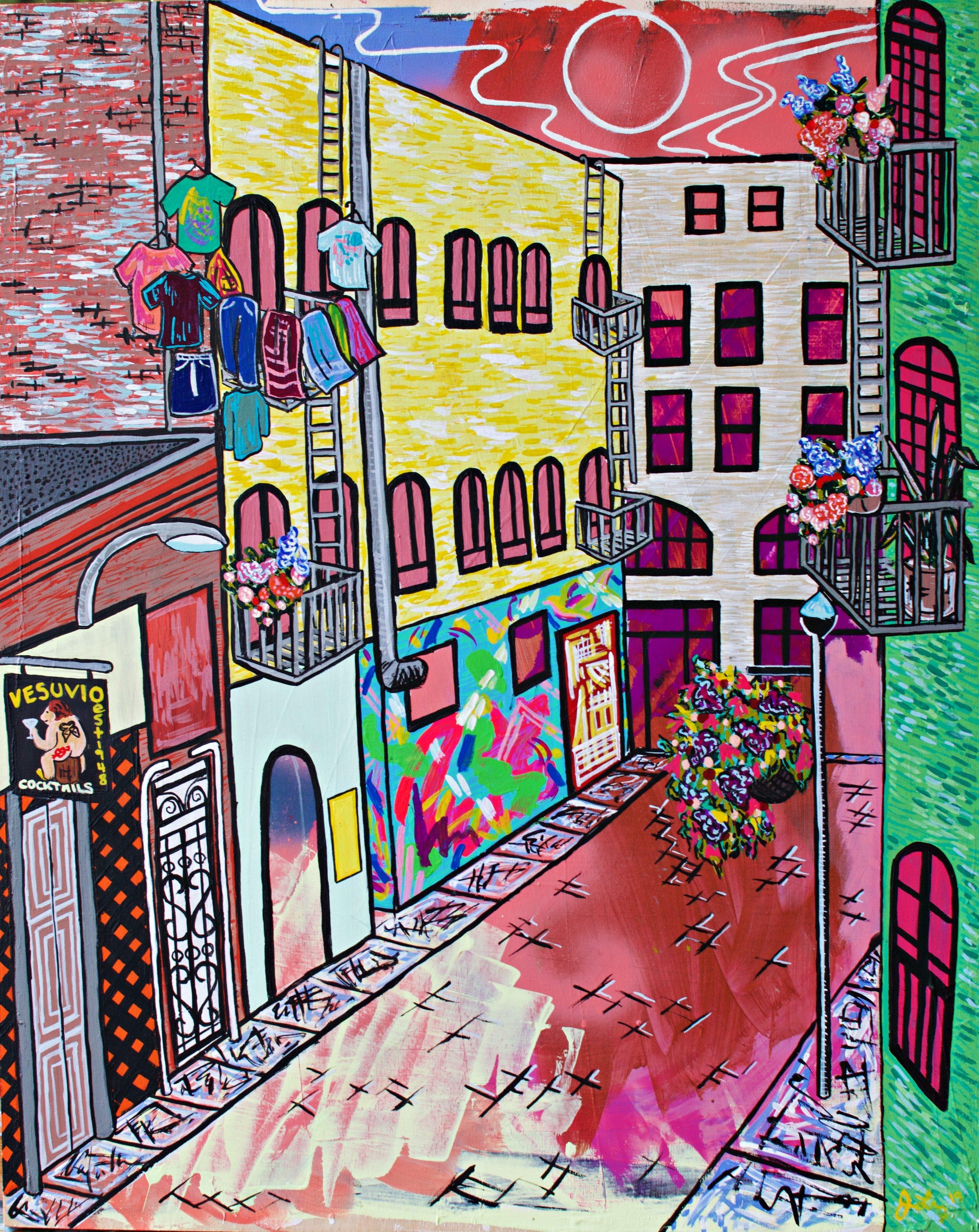 Jack Kerouac Alley, San Francisco