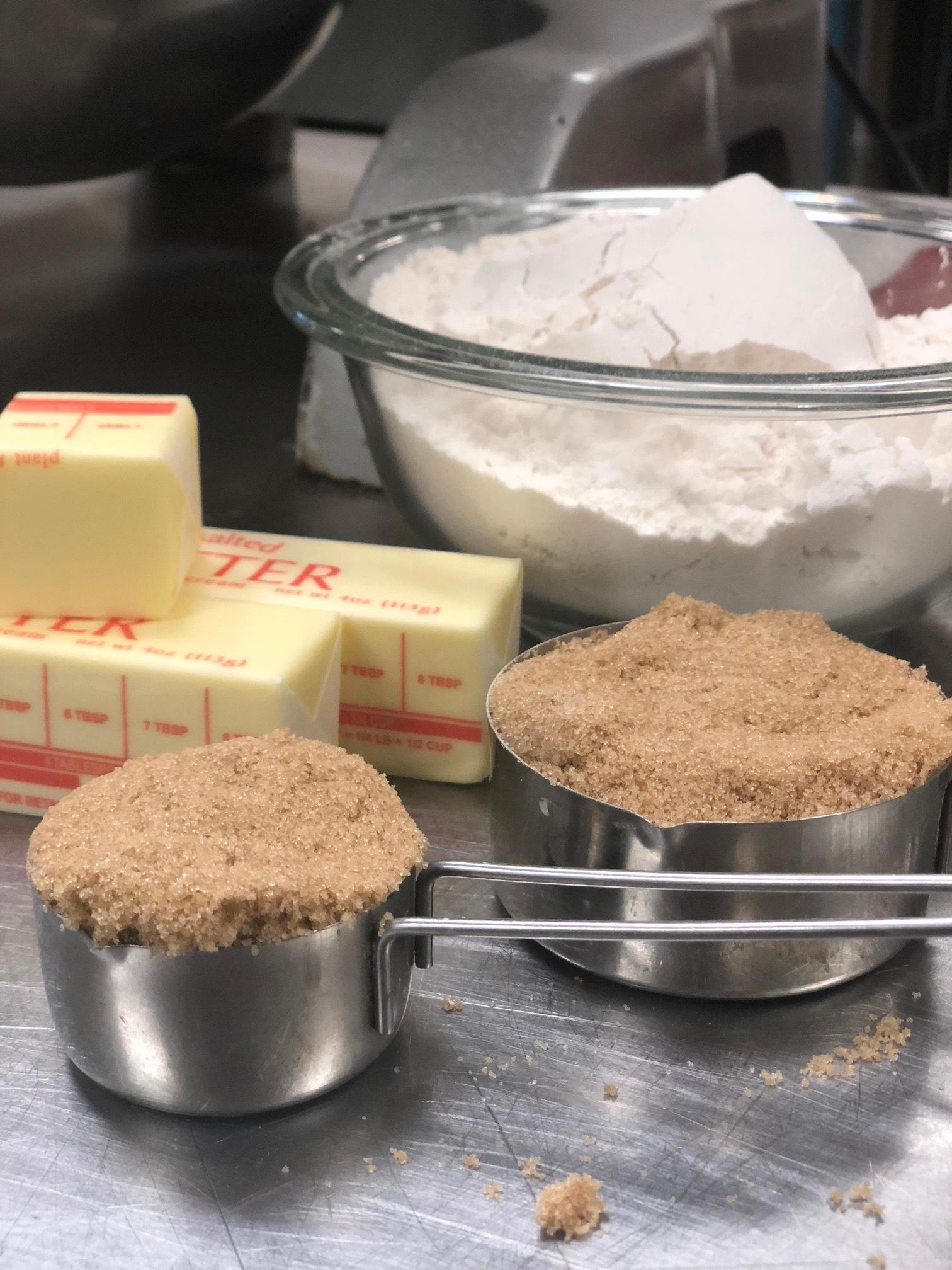 Make the crust. -