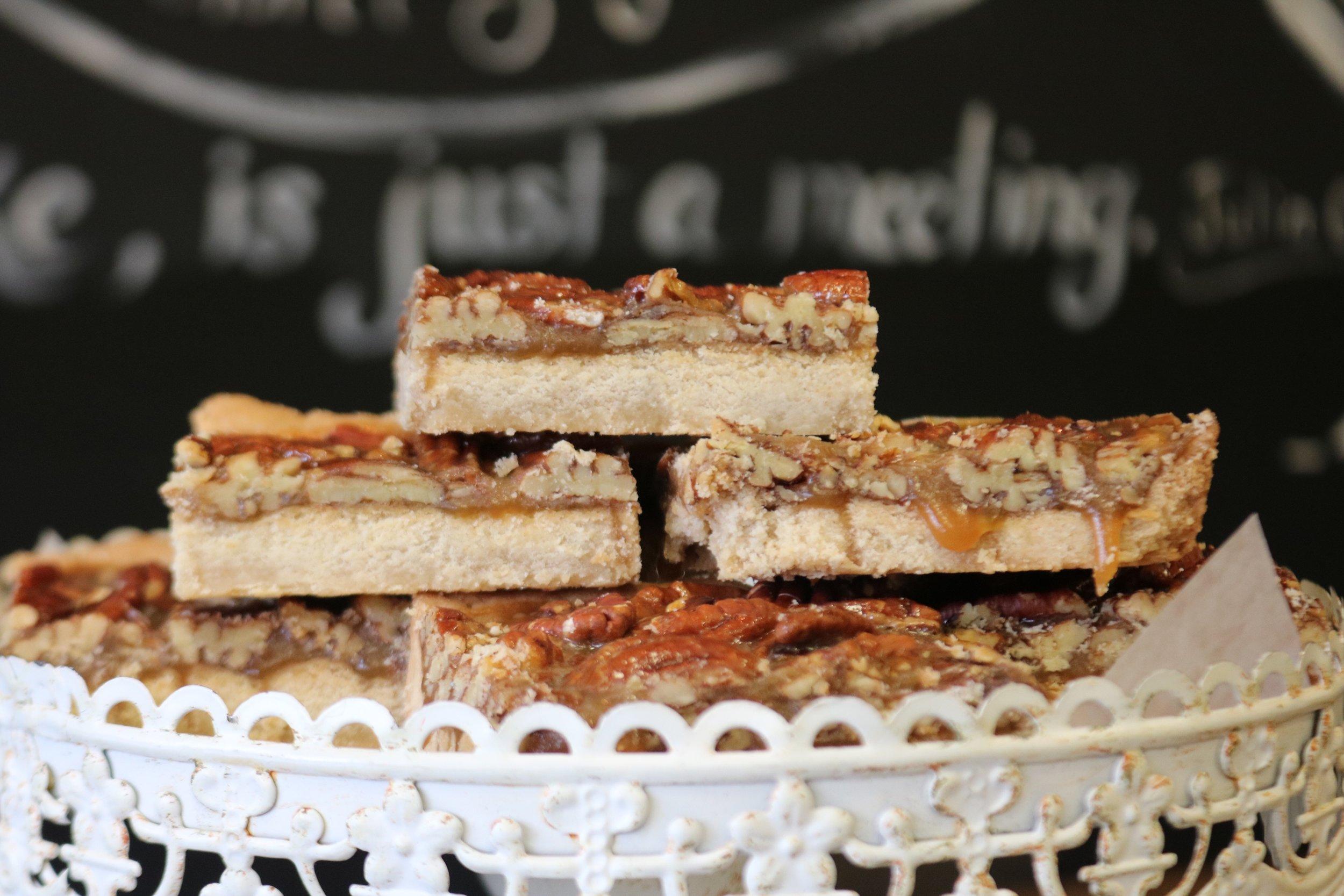 Pecan Pie Bars, Oh So Sweet by Tiphanie