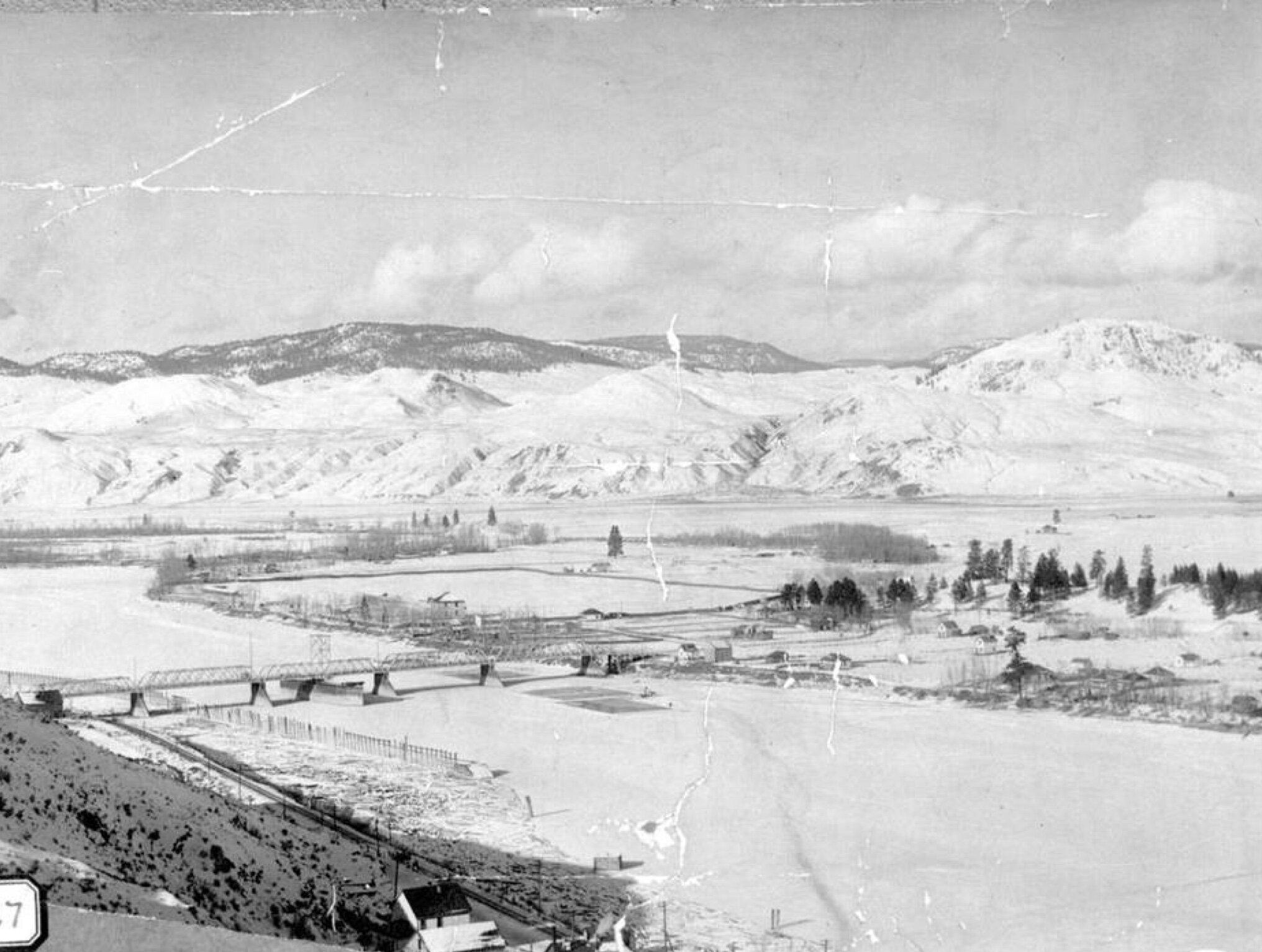North Shore, Kamloops, 1900, Kamloops Museum and Archives