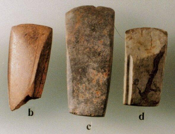adze blades used in canoe making, Port Hammond, BC, courtesy Mike Rousseau.jpg