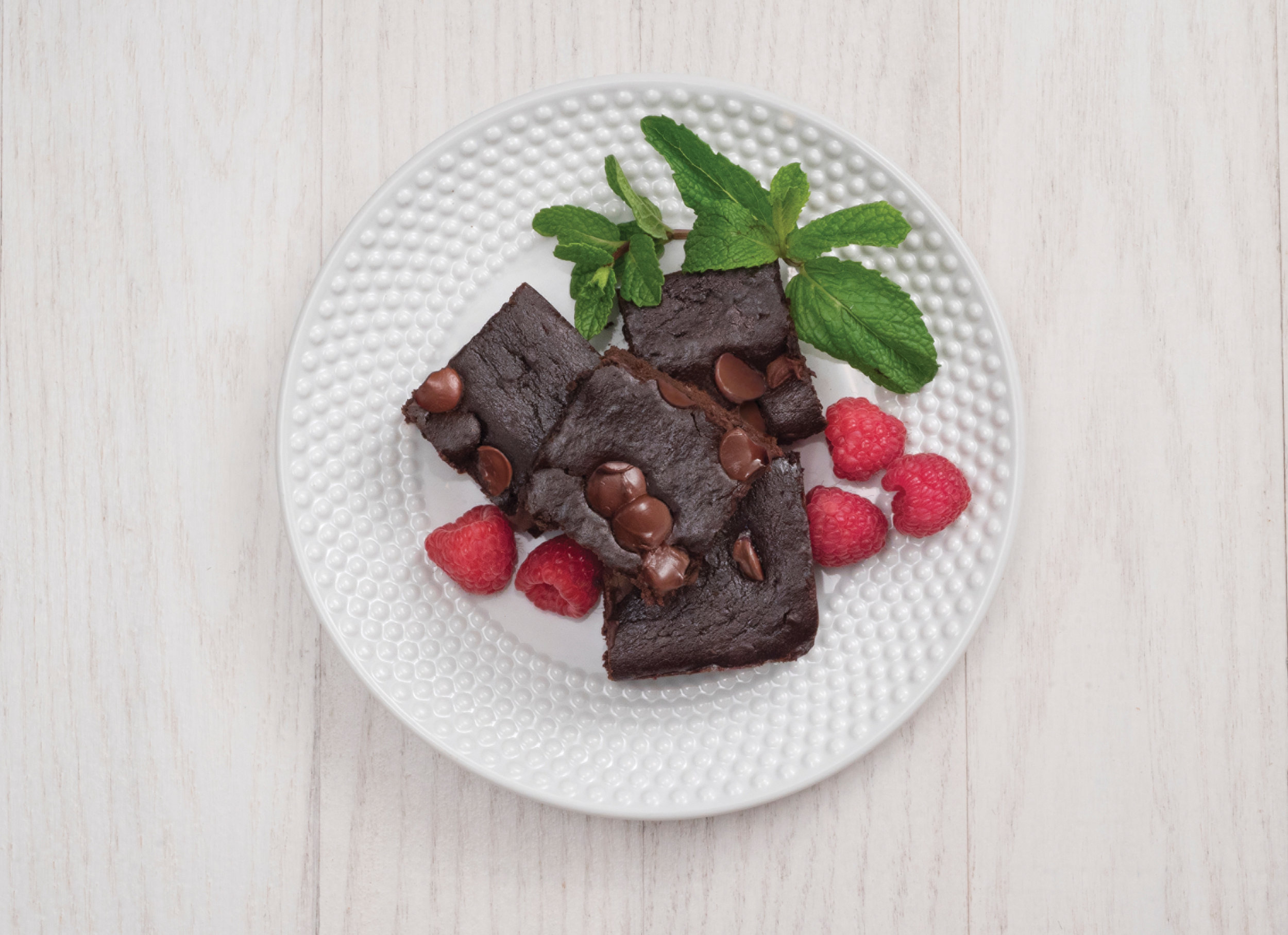 Black BeanChocolate Brownies  -