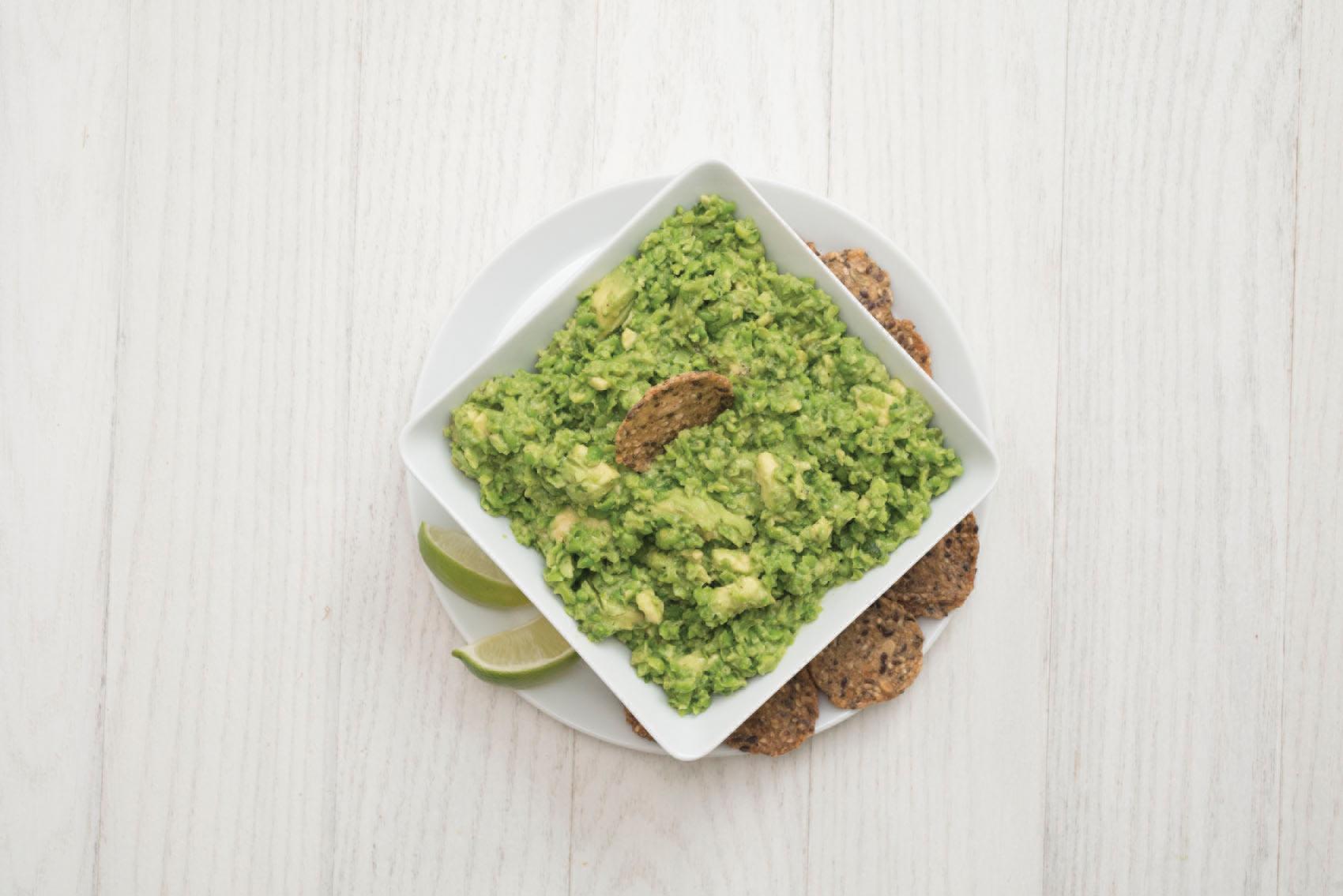 Pea GuacamoleWith Avocado -