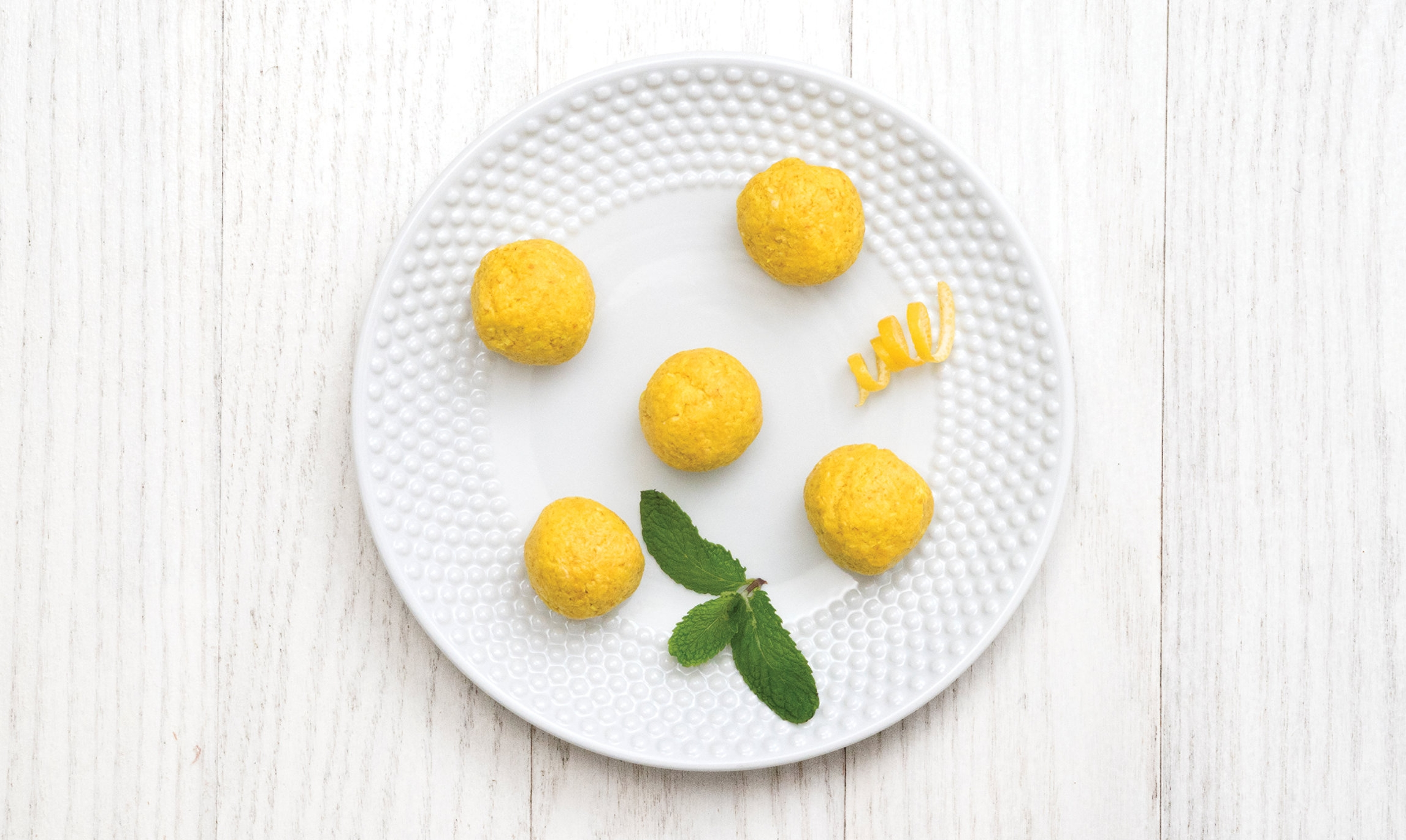 Zesty Lemon Bites -