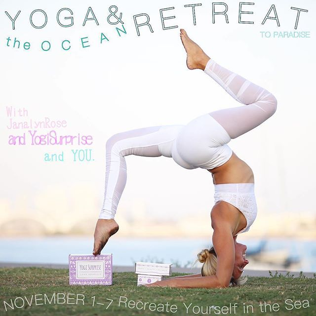"""RETREAT ALERT ✨🌊〰Magical alt Network Member @janalyn.rose is hosting a magical yoga + ocean retreat! • """"🕊Retreat with Me to Recreate Yourself this Autumn. EARLY BIRD OPPORTUNITY until September 1st. 🕊 • Dive into the warm waters of the Nayarit, Mainland Mexico. Paradise. Breathe in with me, exhale a new version of you, smiling.  Amazing gifts from  @yogisurprise @rawelementsusa @virasun and other incredible yoga/ocean- based thoughtful brands, we will be more than practicing yoga together- we will be on an ocean adventure.  Learn OR experience with joy Surfing, Stand Up Paddle, Swimming under the stars, learning to calm your nervous system through floating in warm salt water under palm trees and swaying hammocks, boat rides at sunset to secret beaches and maybe even fresh fish you catch yourself.  Even more than this- daily workshops in Salsa 💃 🕺🏼 Dancing, Nutritional Guidance (Even Sushi Making- Vegan Options available!) Handstanding and Inversions, Visioning the Life you Love, and a few surprises.  Please join me. Tag three friends who you would dream of going with you. Link in the bio if you want to sign up today. DM me with interest or send me a message. I am so excited to spend time with you, guiding you alongside the power of the Ocean to recreate yourself into a life you love. ➰"""" • #altmember #yogaretreat #yogaeverydamnday #surfretreat #retreat2017 #wintersun #mexico #meditation #journey #healing #wellbeingyoga #yogapants #spiritual #travel #dreamlife ##wellbeing #health #dreambuilder #thisisme #quote  #dreambig #vibes #surfing #puertoescondido #surfretreat #sup #supyoga #mexico #paradise #retreats @aloyoga @yogisurprise @rawelementsusa @virasun"""""""