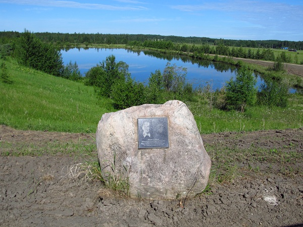 Stones Pond and Plaque
