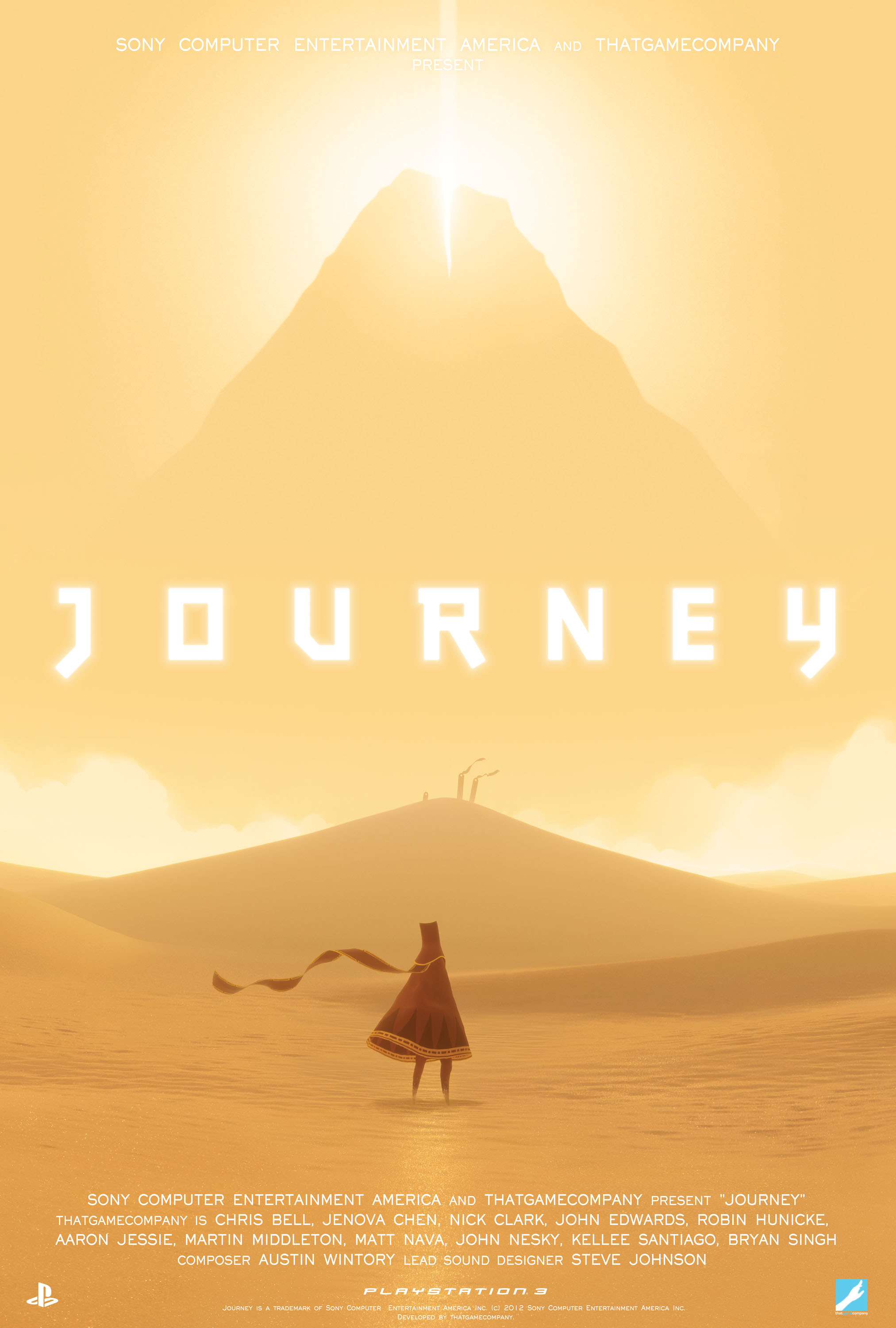 Journey PS3/PS4 2012