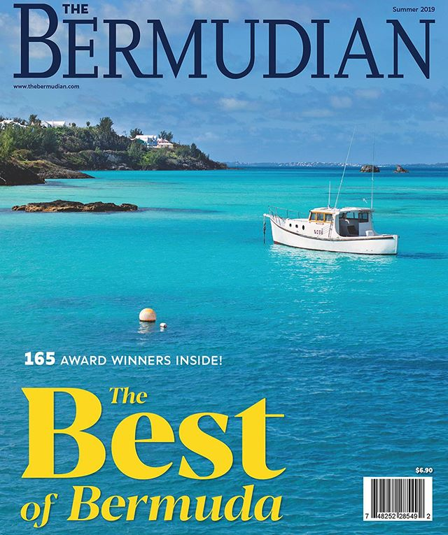 "We are super pumped to see our ""gal"" Troubadour on the cover of the @bermudianmagazine ! Big thanks to the team at BDA Mag for making Troubadour a ""cover girl""!"
