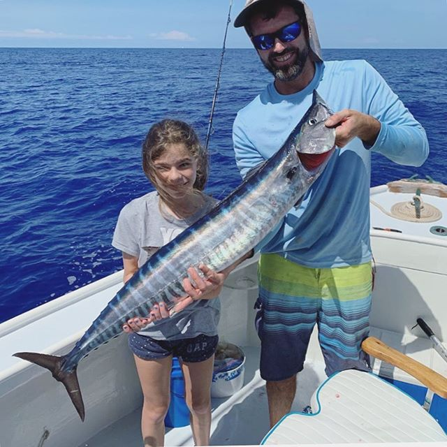 "We love hearing from our guests! Check out what Sandra had to say: ""A big Thank you to Captain Jim and first mate Melike for the wonderful day out on the water on your Troubadour and for taking such great care of my husband and daughter. They both had a great experience deep sea fishing with you in beautiful Bermuda. And bonding father daughter time over something they both enjoy. Our 11 year old had a fairly successful day and hasn't stopped talking about it!! She's small, but very strong and adores fishing. Kept some and returned others responsibly. Who says girls can't fish!! 💪....Captain Jim iced a wahoo they caught which they brought back to the hotel and our chef prepared it for us. What an experience!! We highly recommend this wonderful family run business. Check them out on Facebook, Tripadvisor and on the cover of The Bermudian magazine! @earlybirdchartersbermuda 😁🎣"" @scosta0 - We hope to see you guys out on the water next year! 🙌🏼 Thank you for your rave review!"