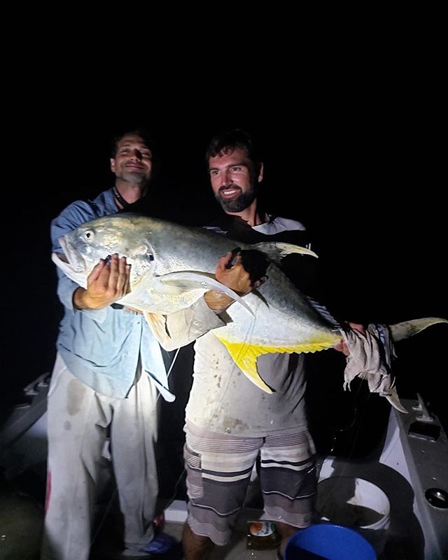 Jim went out fishing with his mates last Friday evening (7/26) on Paul's (@foxseabda) boat. They reeled in a Jack Crevalle! Because it was such a beautiful fish, they released her. Reeled in by Staurt (@proudtobesolar) & pulled in by Jim (@earlybirdchartersbermuda)! Photo by Justin (@missymarshallmadeiros ) #catchandrelease #bermudafishing