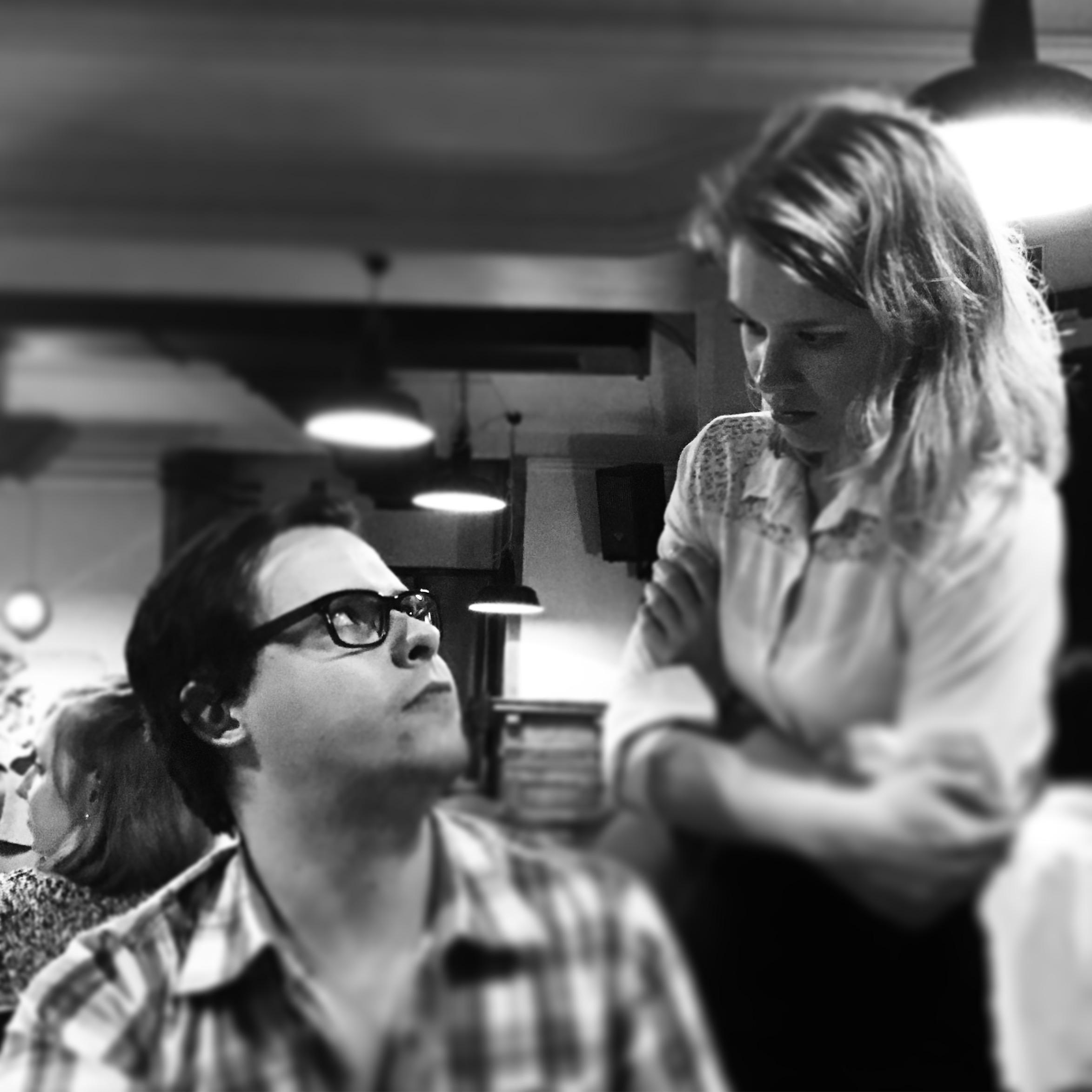 Patrick  Ruethermann et Tamara Wanner, Café Populaire