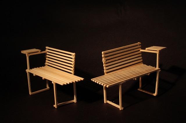 Eva Gugsa and Nhu-Phuong Tran. Untitled 3D Process Model, 2018. Wood. Courtesy of the artists.