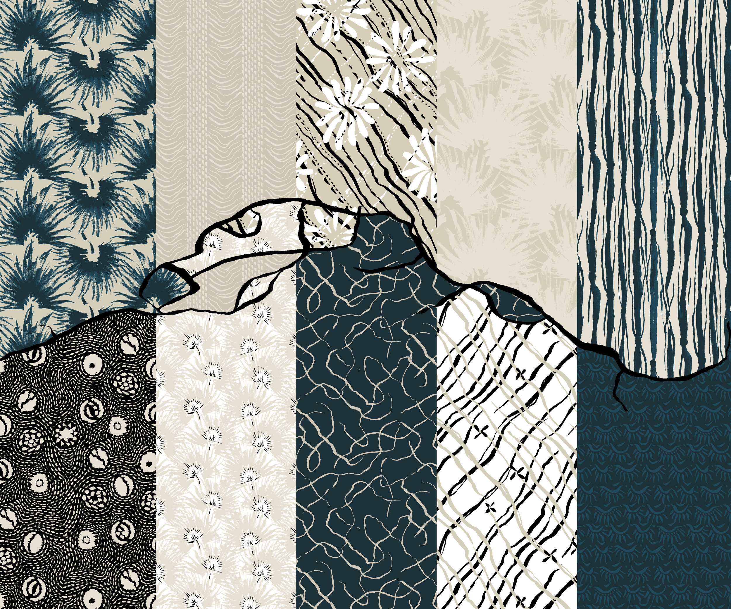 """""""Woven Ink"""" Collection"""
