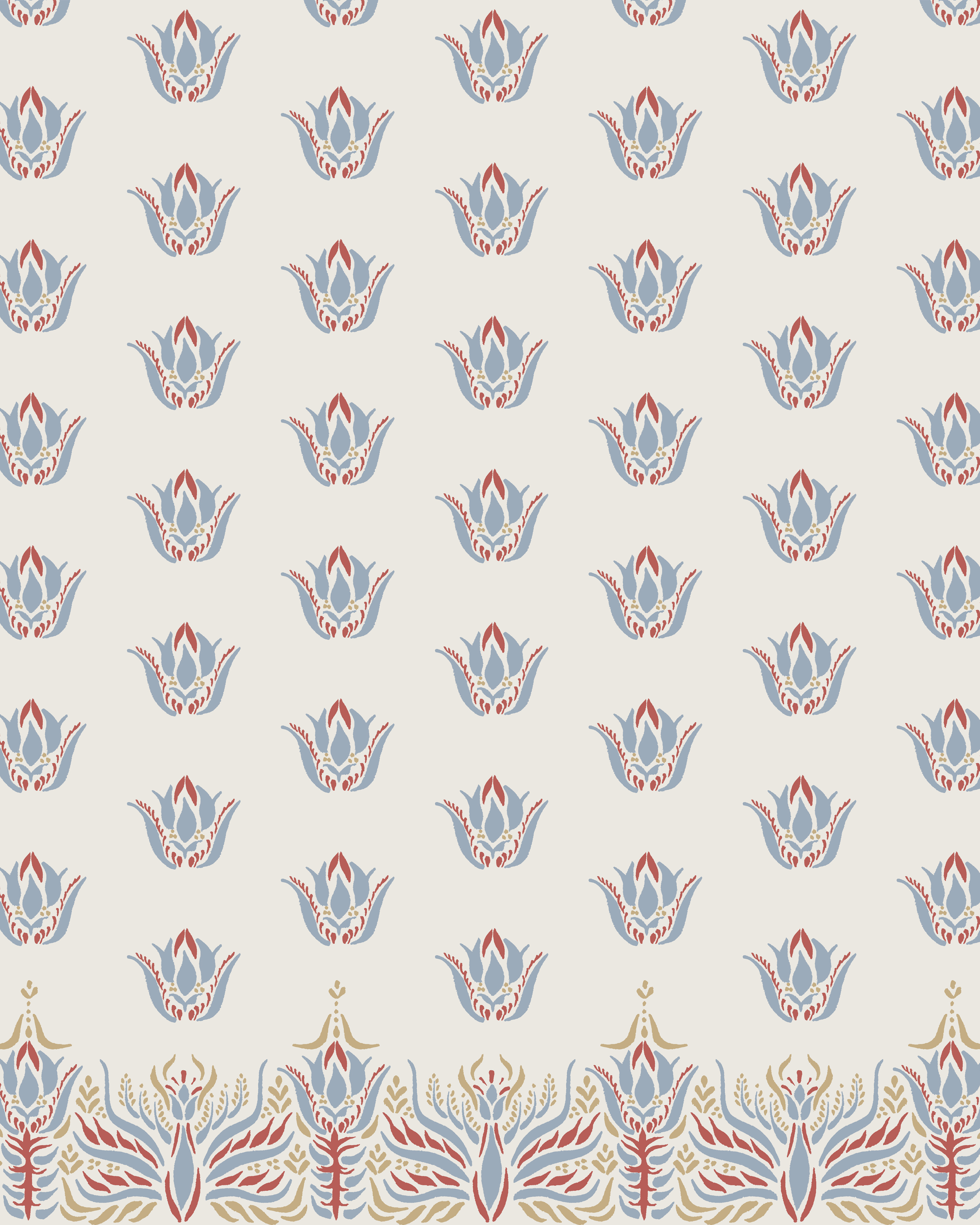 Little Indian Motifs Border with Repeat Soft Primaries.jpg