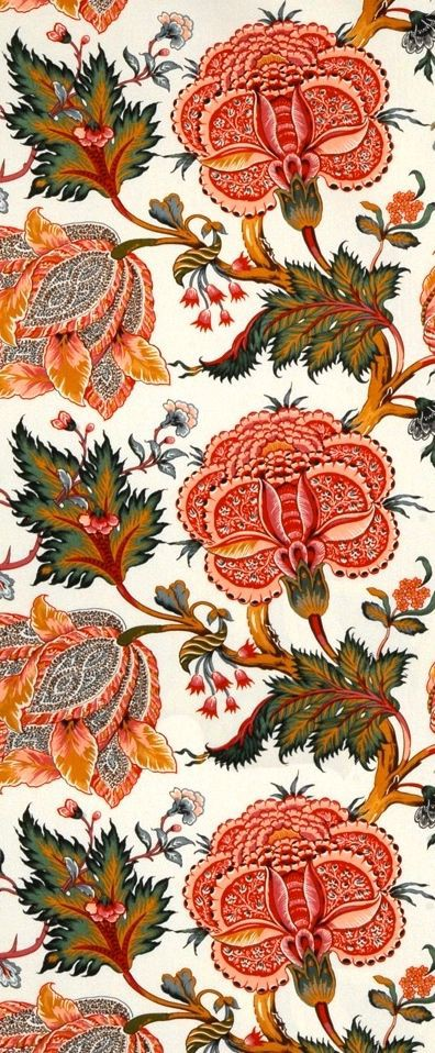 A typical Indian chintz