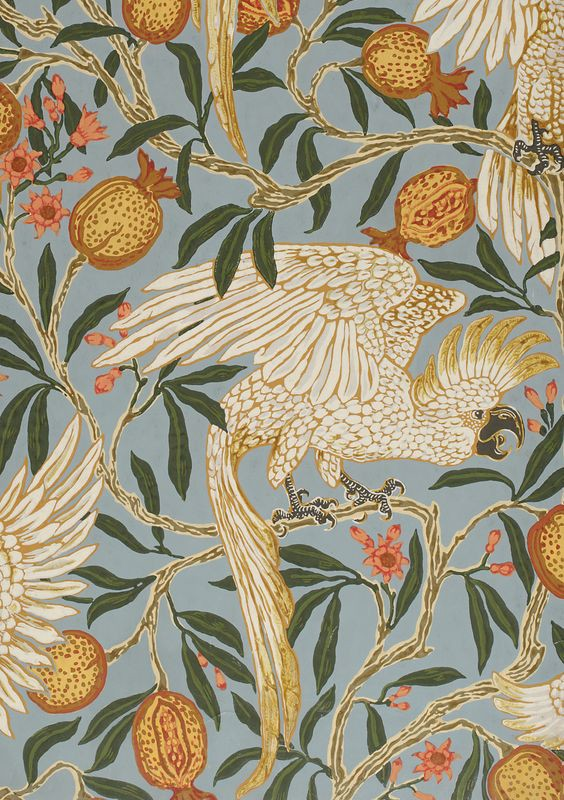 A Walter Crane design from the Victoria & Albert Museum Collection